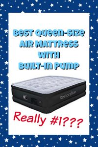Best Queen Air Mattress with Built-in Pump