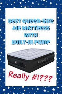 Best Queen Air Mattress with Built-in Pump