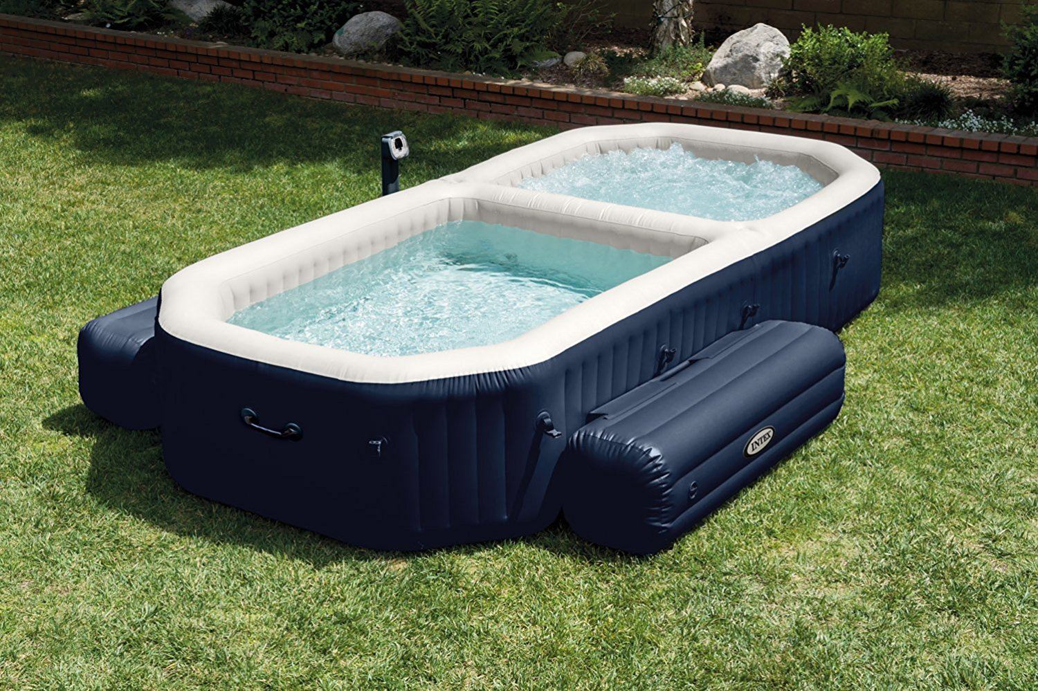 Best portable hot tub soak socialize and relax easy for Spa and pool
