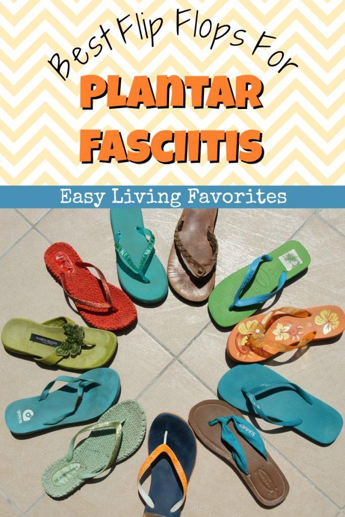 mens flip flops for plantar fasciitis
