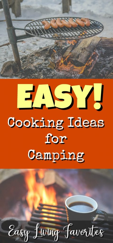 Easy Cooking Ideas for Camping