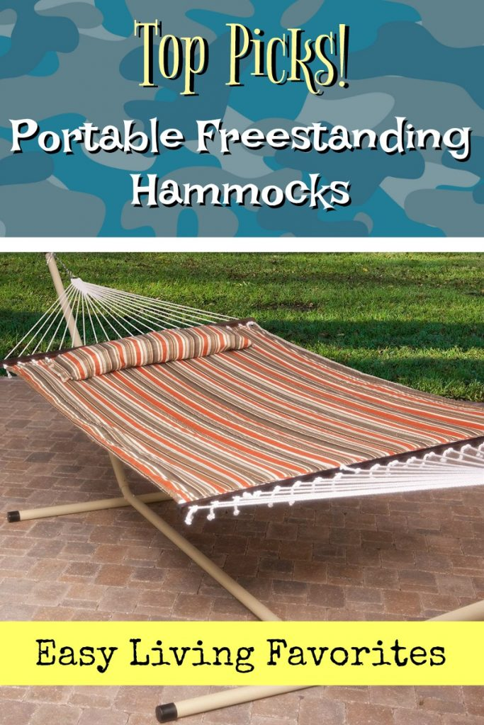 Portable Hammock with Stand - Chillin and Relaxin